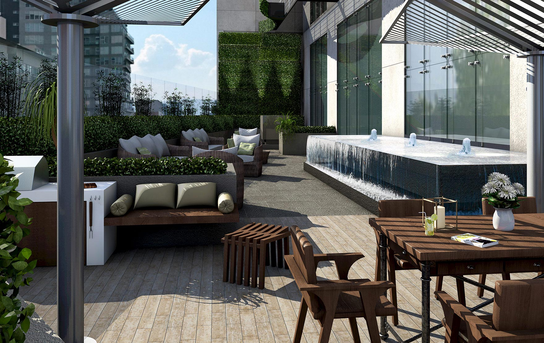 Terraza City Towers Black